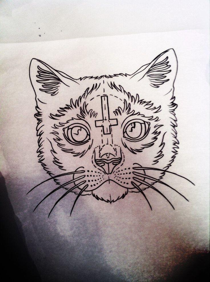Tattoo Drawing 75 Picture Ideas Cat Tattoo Cat Design Art Lucky Cat Tattoo