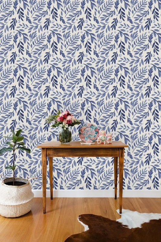 Windcrest Removable Leave 8 33 L X 25 W Peel And Stick Wallpaper Roll Peel And Stick Wallpaper Removable Wallpaper Wallpaper Roll