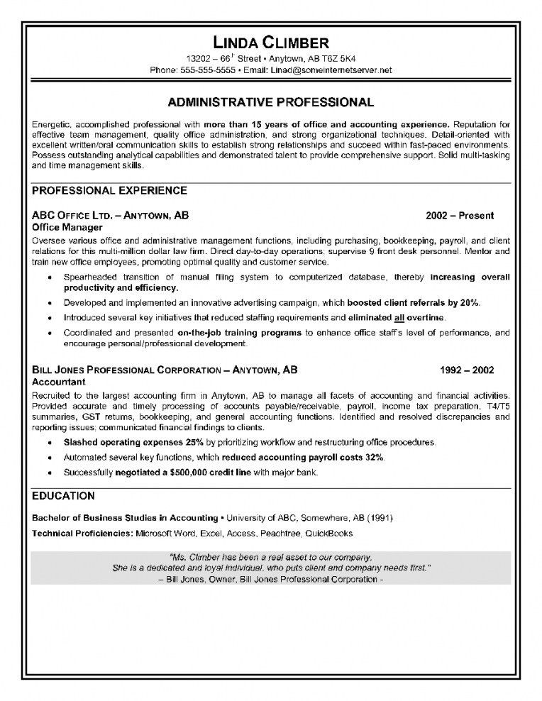 Free Resume Templates Canada Resume Examples Administrative Assistant Resume Resume Skills Resume Objective Sample