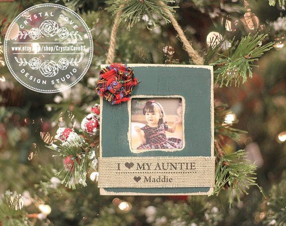 Aunt Ornament Personalized Christmas GIFT Tree Ornament for Aunt ...