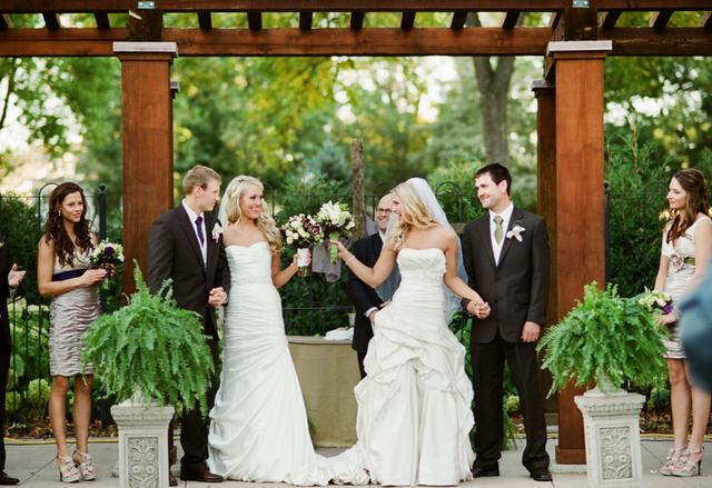 Captivating Awesome Wedding Ideas · Double Wedding