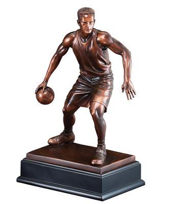 Mvp Basketball Sculpture Mvp Basketball Statue Basketball Trophies