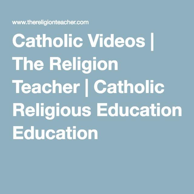 Good info on Catholic teachings.