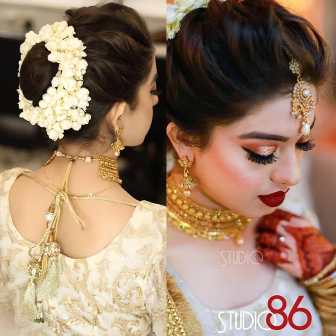 Arisharazikhan178 Stunning Look From Her Sisters Big Day Riwaajkhaana Arisharazik Indian Wedding Hairstyles Diy Wedding Hair Indian Bridal Hairstyles