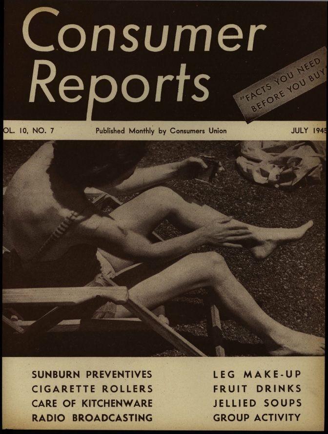 d372c71abd Consumer Reports Magazine  1945