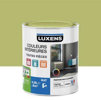 Peinture Vert Kaki 5 Luxens Couleurs Intérieures Mat 0 5 L