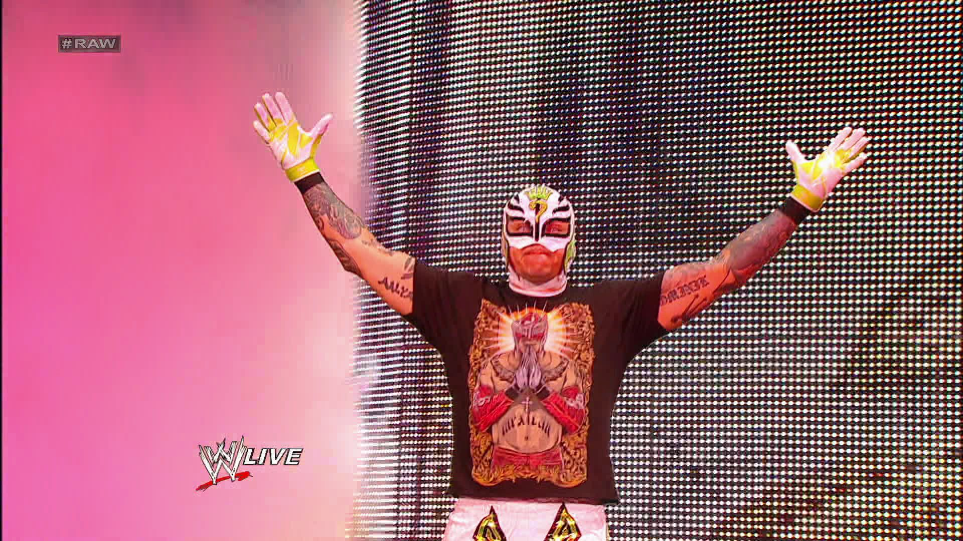Lucha Libre Rey Misterio Rey Mysterio Is Ready To Hit The Ring On Monday Night Raw