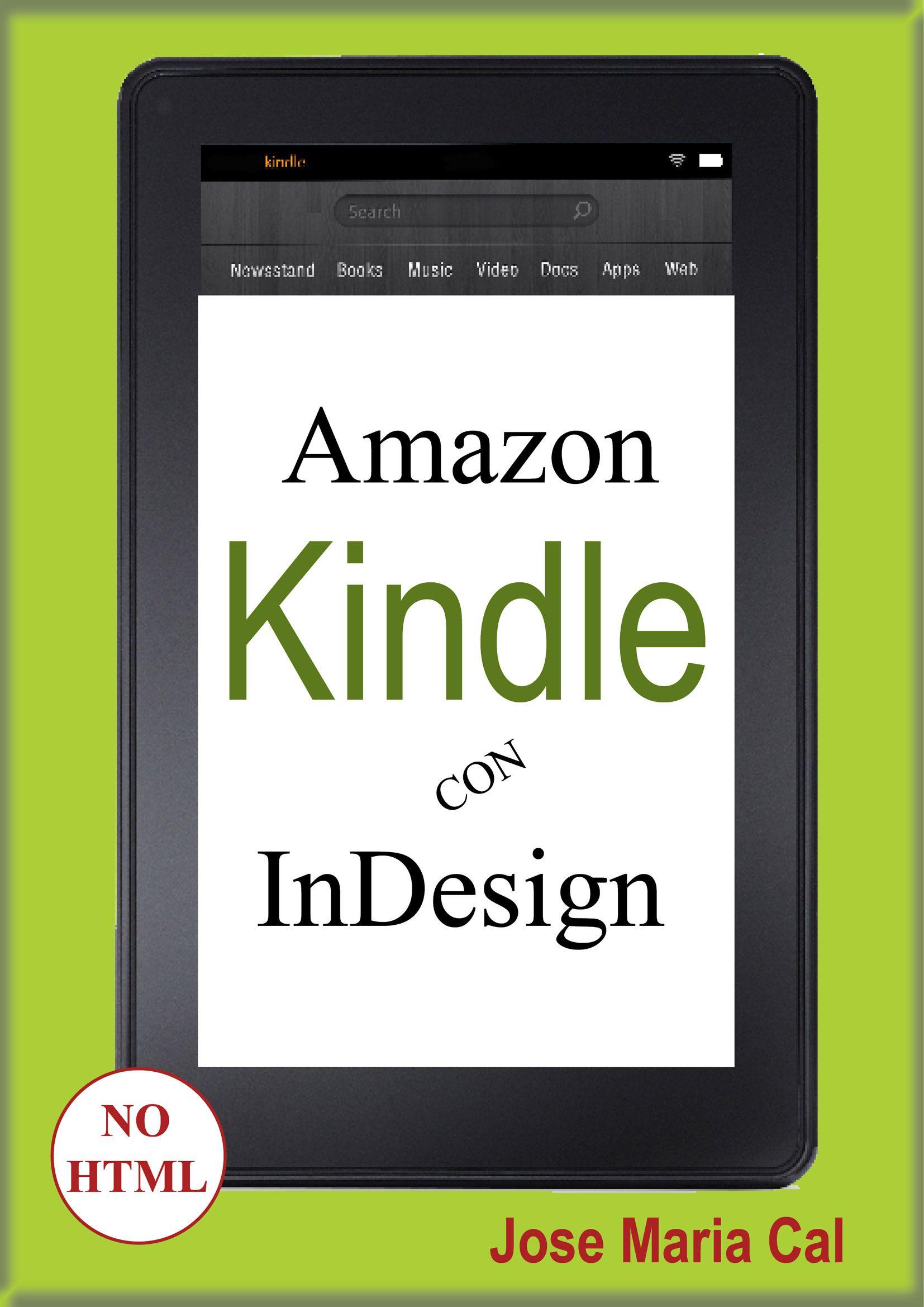 Portada libro: Amazon Kindle con InDesign. | Libro: Amazon Kindle ...