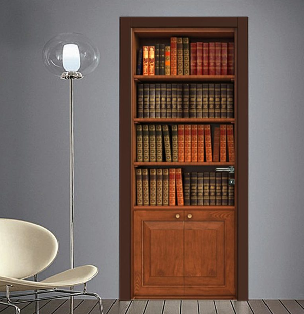 Adesivo Finta libreria classica nel 2020 Arredamento