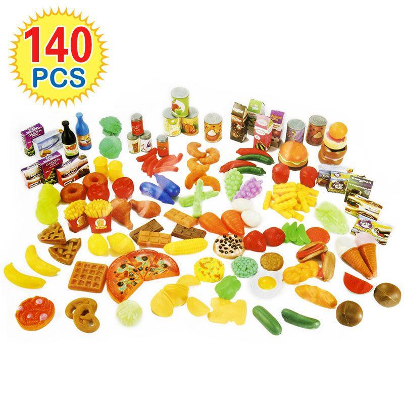 140 Stücke Kinder Schneiden Obst Gemüse Täuschen Spiel-küche - kinder spiel k chen