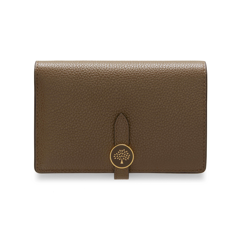 7e69a8c8276 Mulberry - Tree Medium Wallet in Clay Small Classic Grain | Wish ...