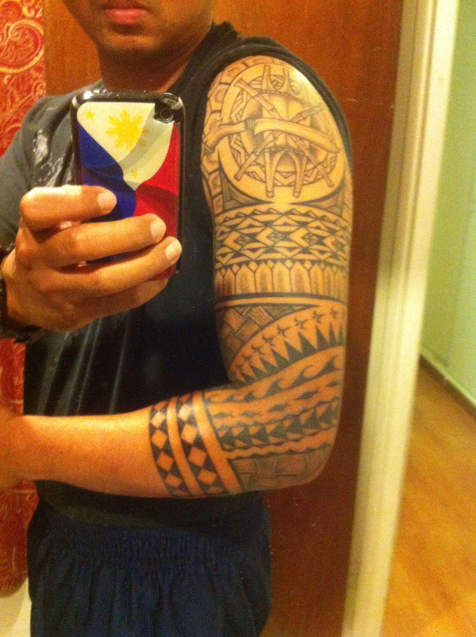 filipino tribal tattoo filipino tribal tattoo pinterest tribal tattoos filipino tribal. Black Bedroom Furniture Sets. Home Design Ideas