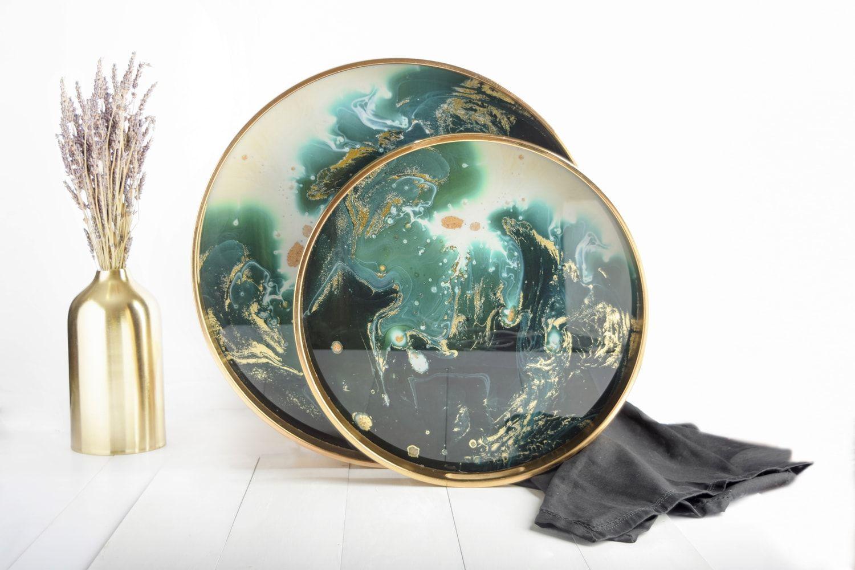 صينية تقديم تشكيلة فاخرة وراقية من موقع بيتونيا Mirror Table Mirror Decor
