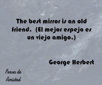 Frases De Amistad En Ingles De George Herbert Frases De