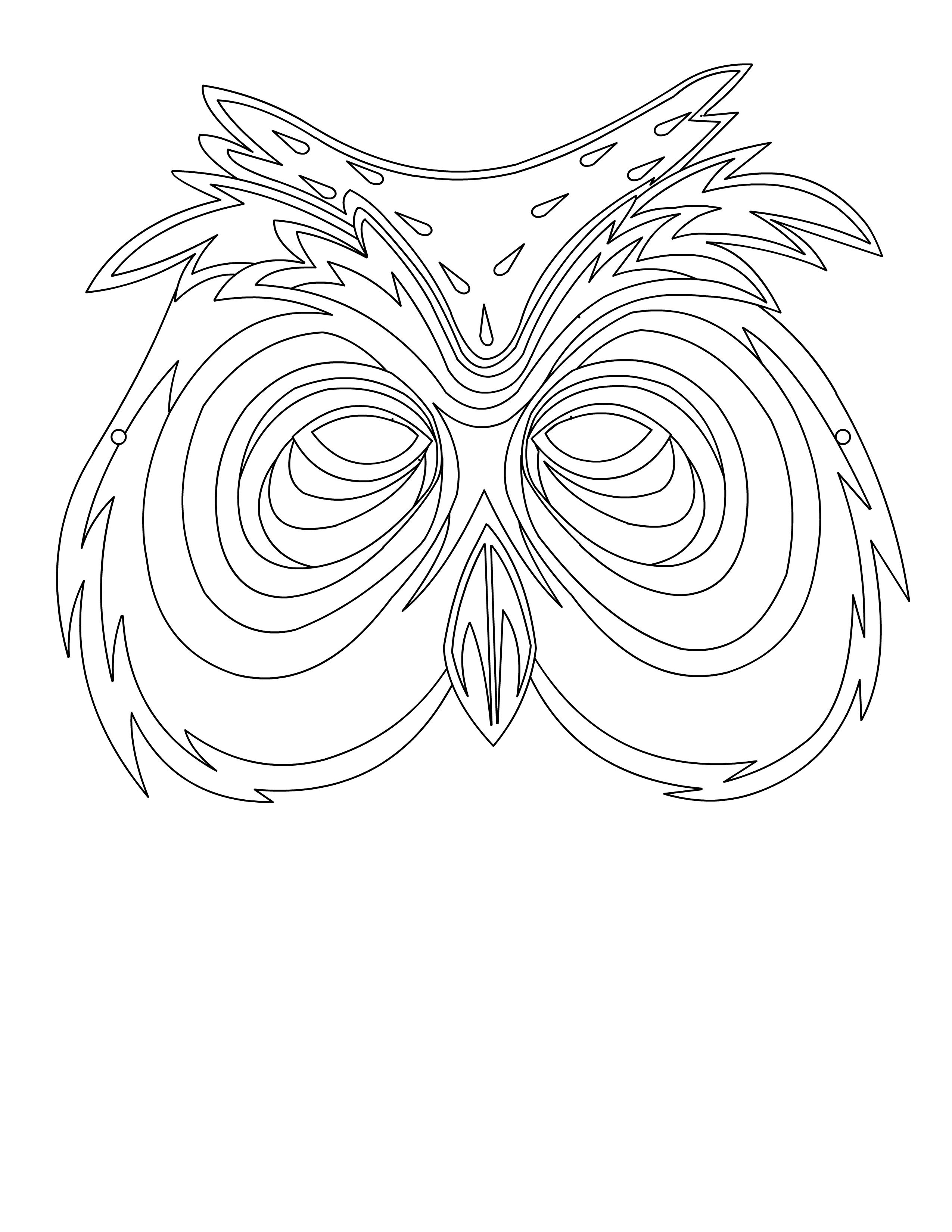 Pin By Luke On Ident Owl Masks Research With Images