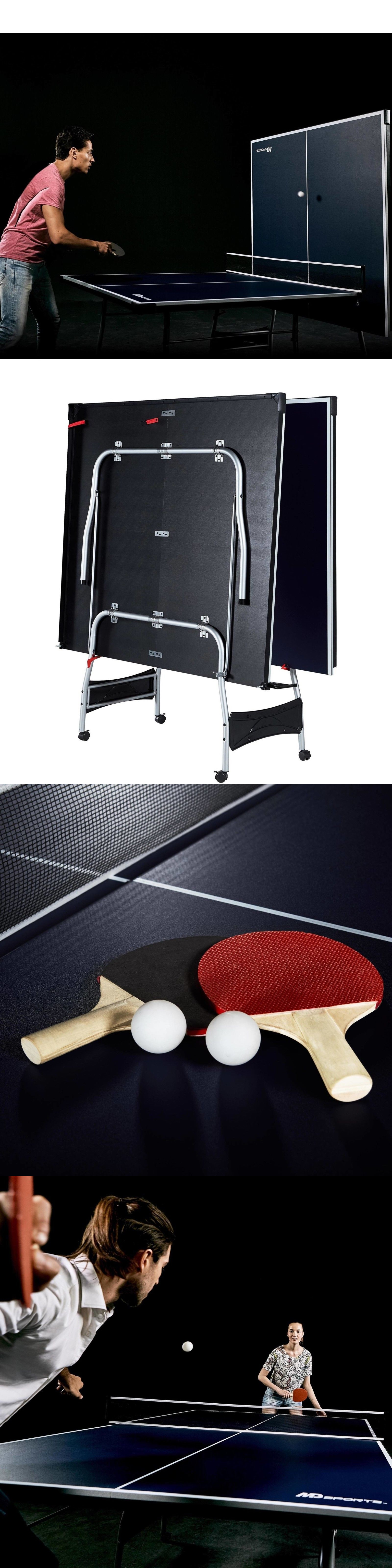Tables 97075: 4 Piece Table Tennis Table, Official Tournament Size 9 X 5