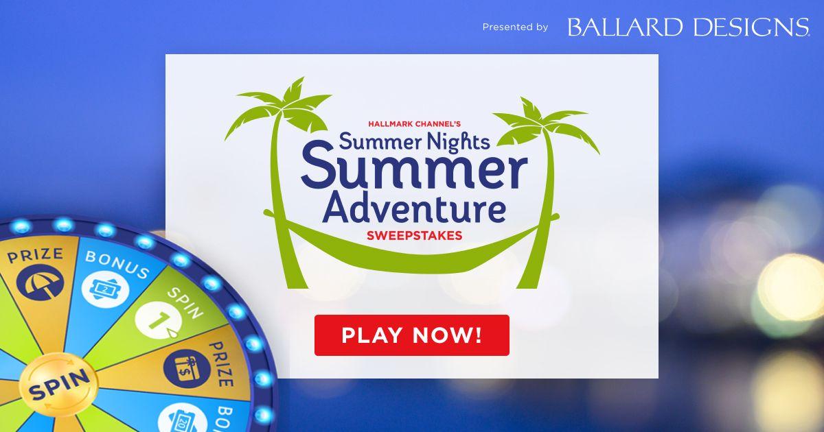 I've entered @hallmarkchannel's Summer Nights Summer
