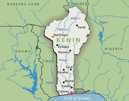 In the Bight of Benin, the state of Benin was at the height of its