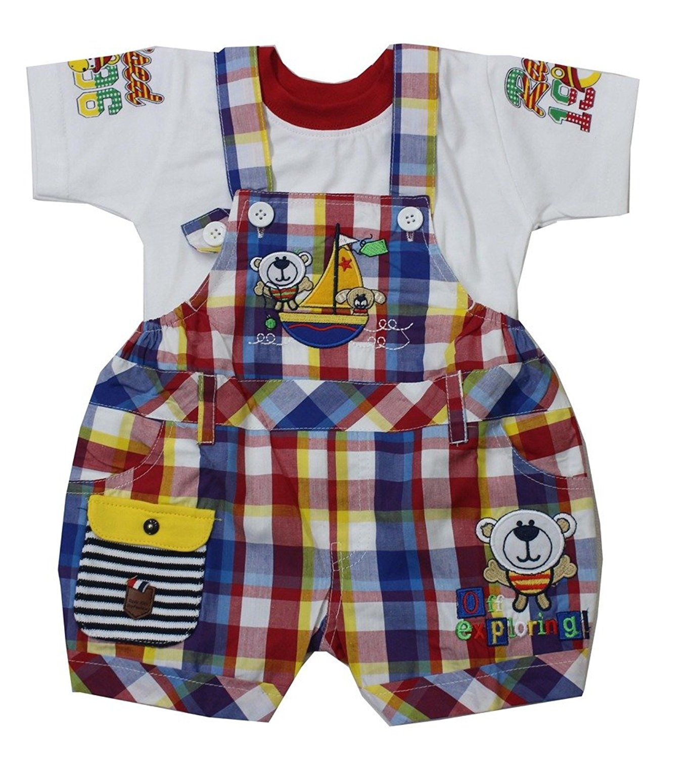 20a1ae82a4e Romano Baby Boy s Soft Feel 100% Cotton Baba Suit Set     This is an Amazon  Affiliate link. You can find more details by visiting the image link.