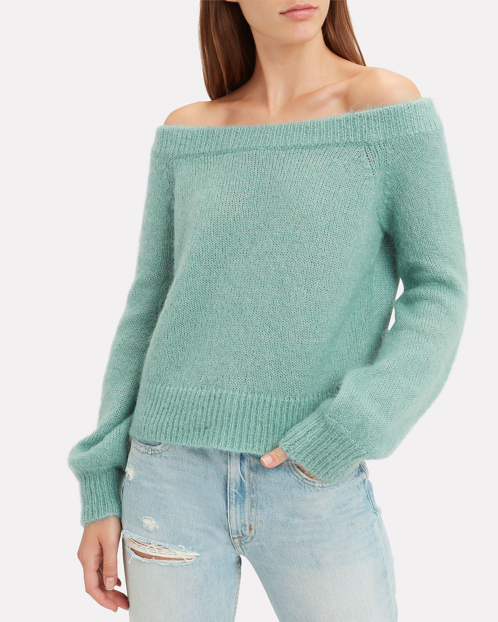 327e7bf92b Adelina Off Shoulder Sweater