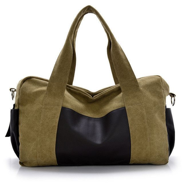 Fashion multi-function Canvas men s travel bags 192ae3f403a86
