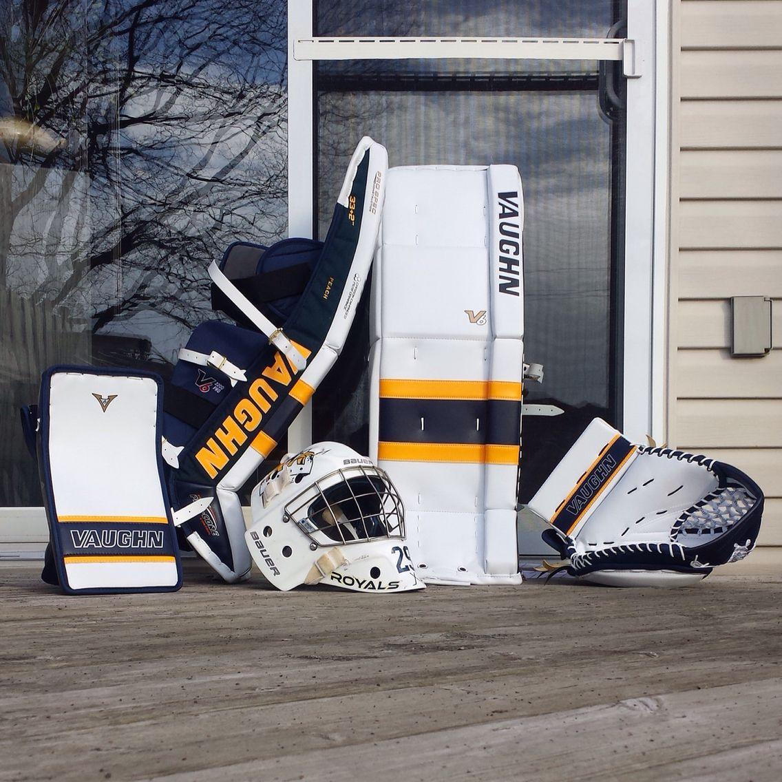 Pin by Treyson Boesch on Goalie Pads   Goalie gear, Goalie pads, Hockey
