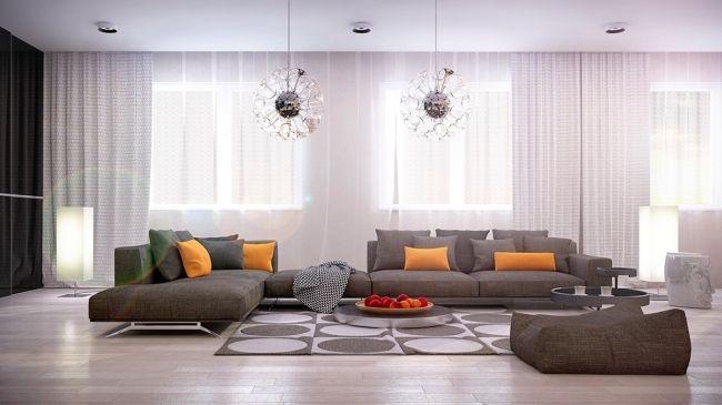 21 idées de décoration design pour son salon Salons, Contemporary