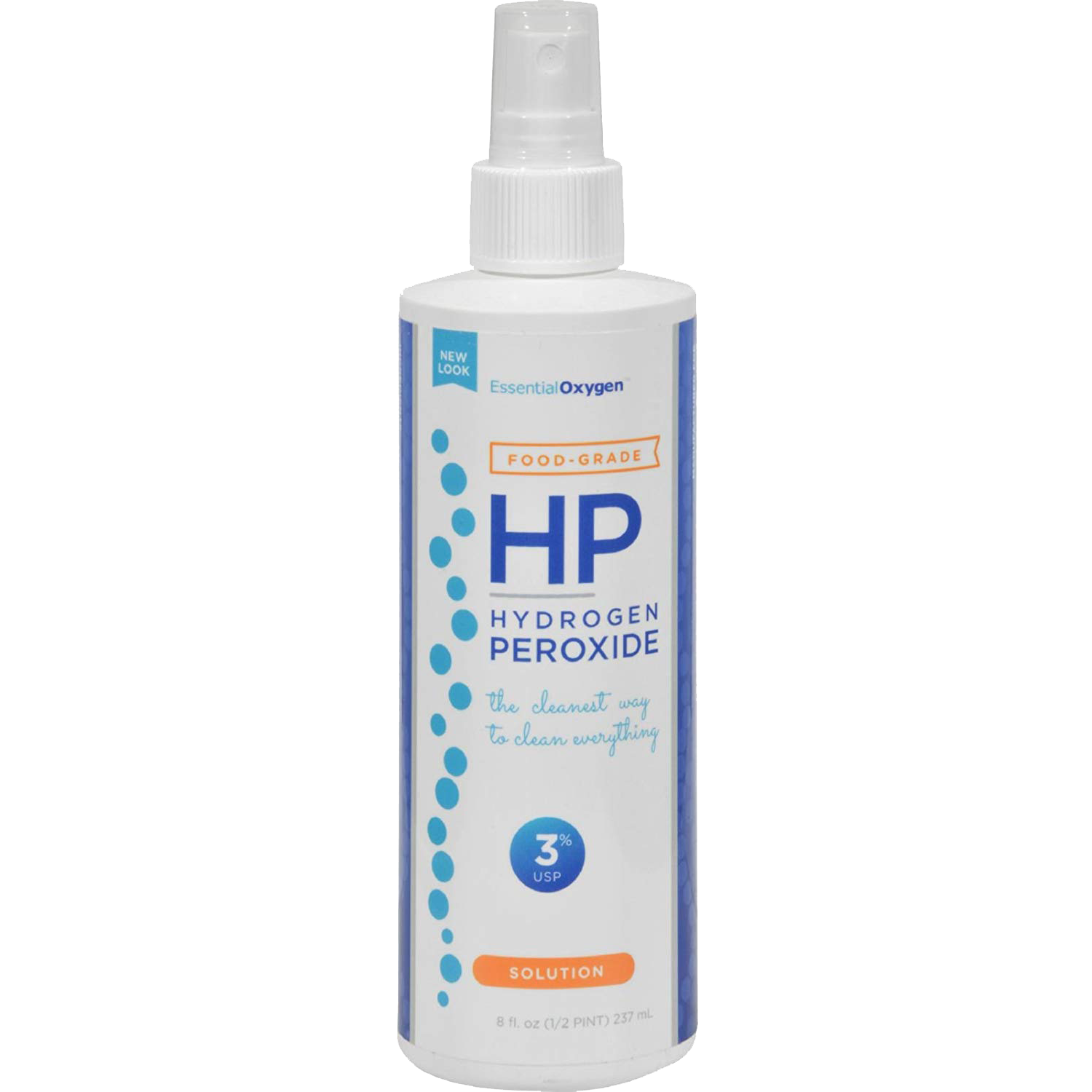 Hydrogen peroxide is a natural bleaching agent and can kill