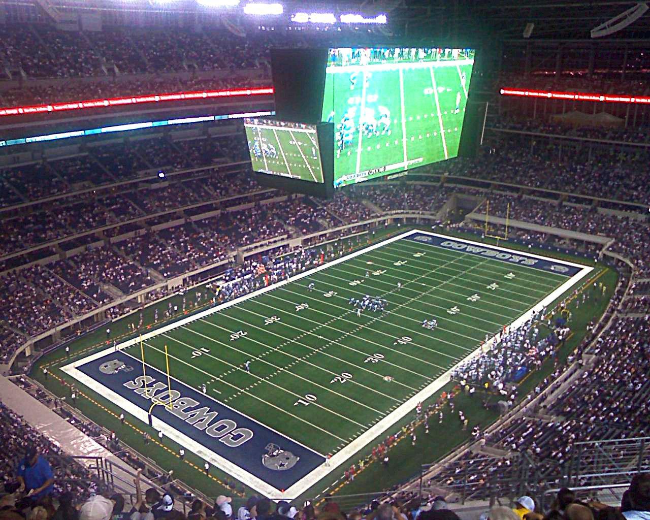 Cowboys Stadium, Dallas, TX.