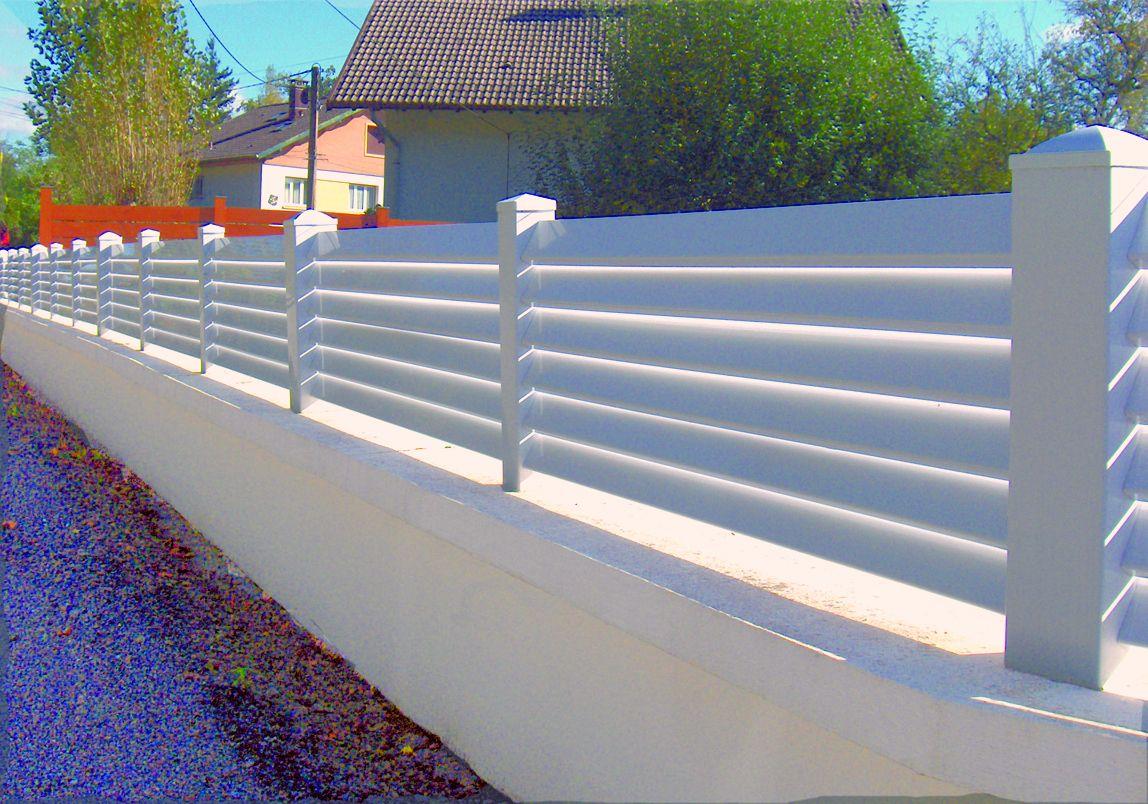 Optez Pour La Cloture Ajouree Sur Mesure En Aluminium Gard
