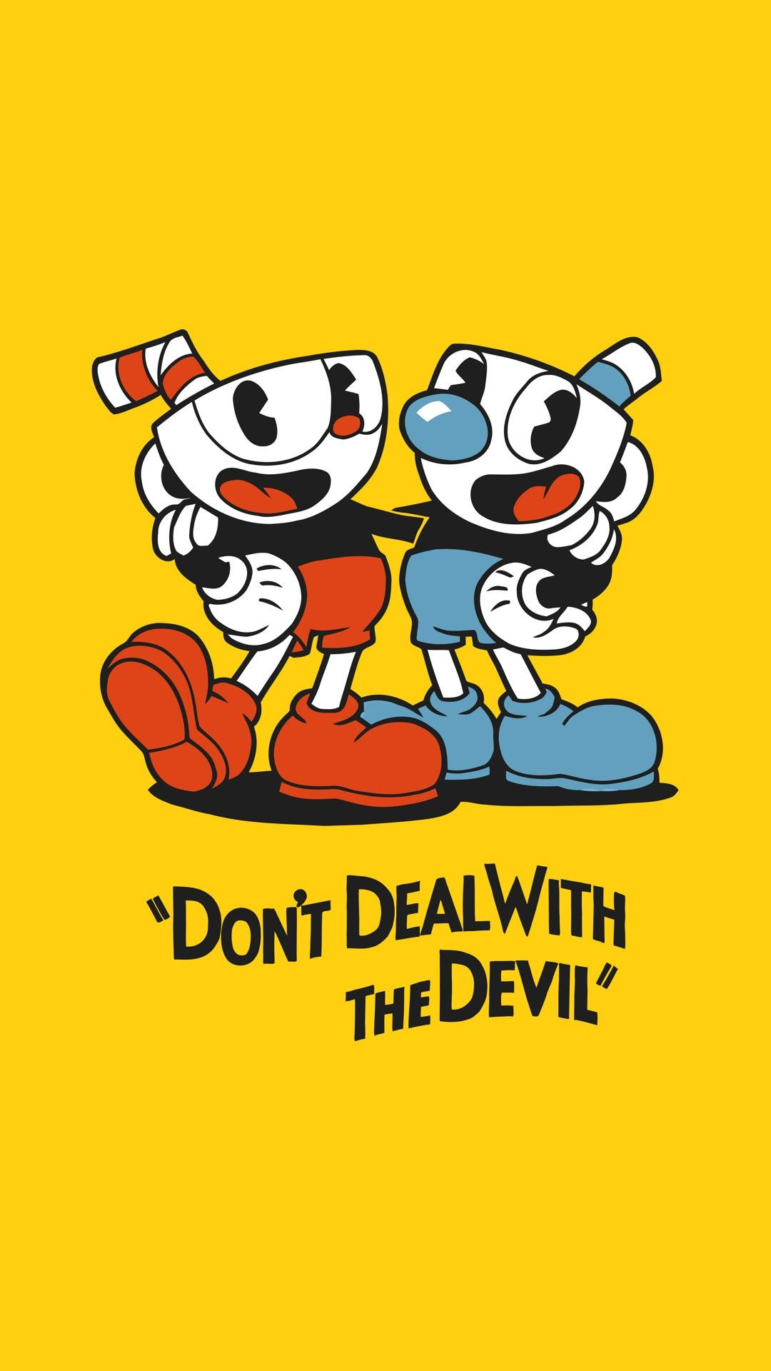 Pin By Wolf Girl On Phone Wallpaper In 2019 Cuphead Game