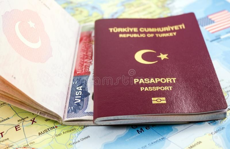 Close Up Front View Of A Turkish Passport On Us Map Close Up Front View Of A Tu Aff Turkish Passport View Close Visa Online Passport Renewal Us Map