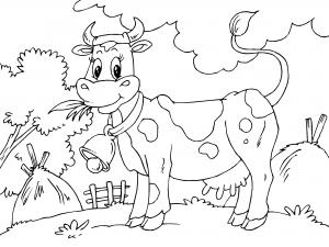 vaca para colorear aplicaciones pinterest colores colorear