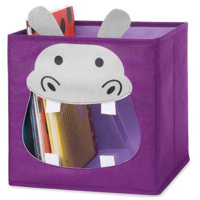 Whitmor Inc Hippo Collapsible Storage Cube Collapsible Storage Cubes Cube Storage Collapsible Storage Bins