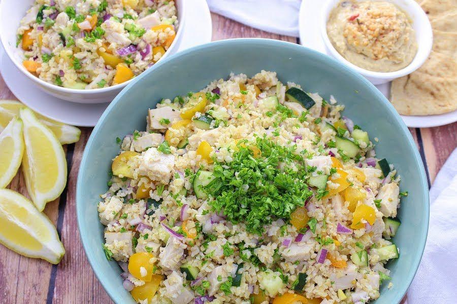 Bulgur Salad With Lemon-Cumin Dressing