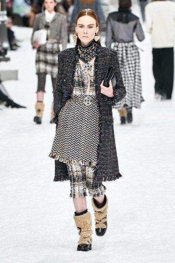 Prêt-à-porter Chanel Herbst / Inverno 2019-2020 – Sfilate di moda | Vogue Germania
