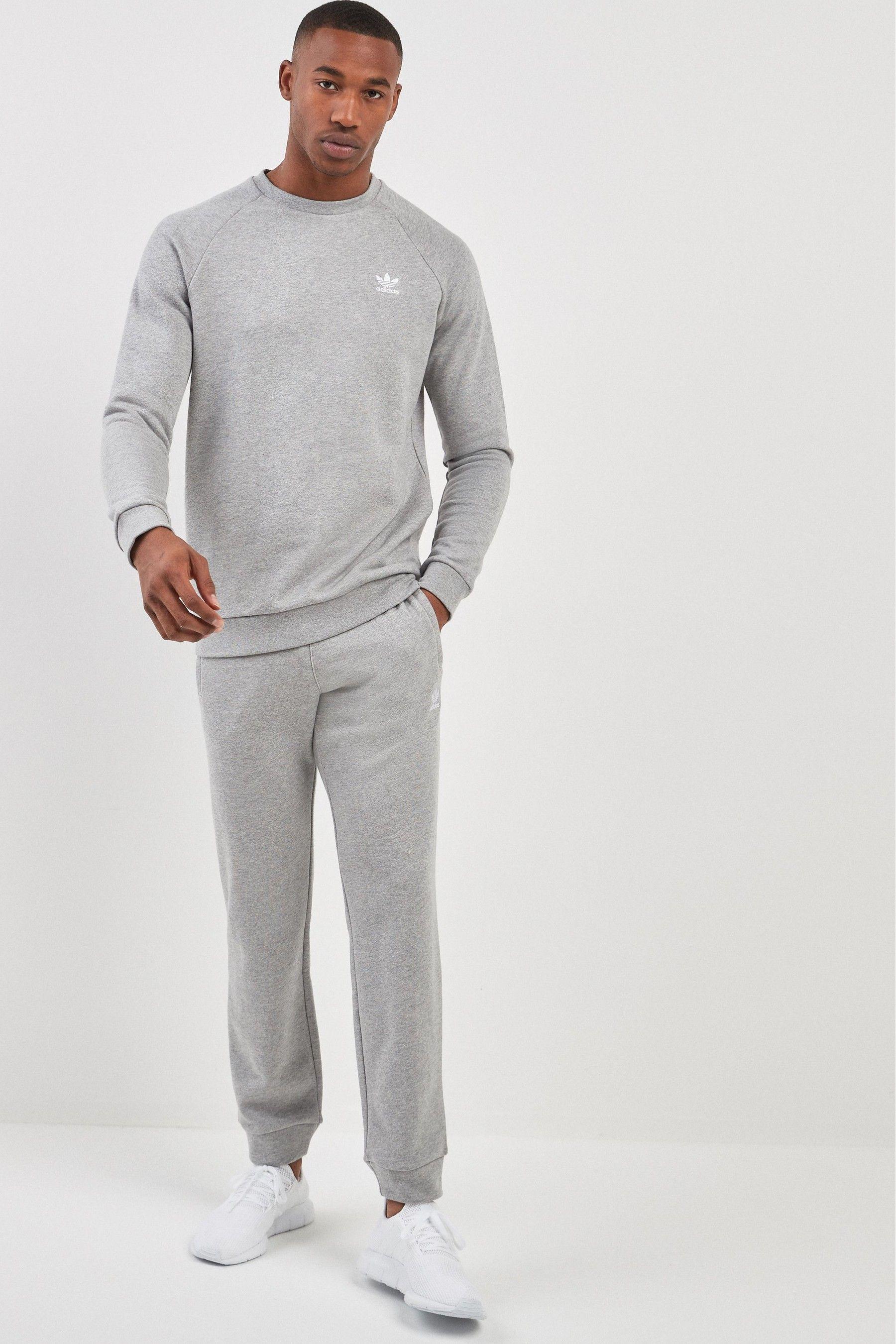 Mens adidas Originals Essential Joggers Grey   Products in