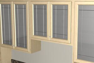Cabinet Door Design Complete Build With Glass. I Like This Approach Putting  The Rabbet In