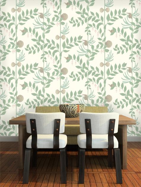 Secret Garden Wallpaper Ii Wallpaper Cole Son Garden