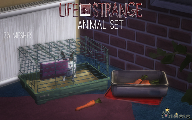 Sims 4 CC's The Best Life is Strange Animal Set