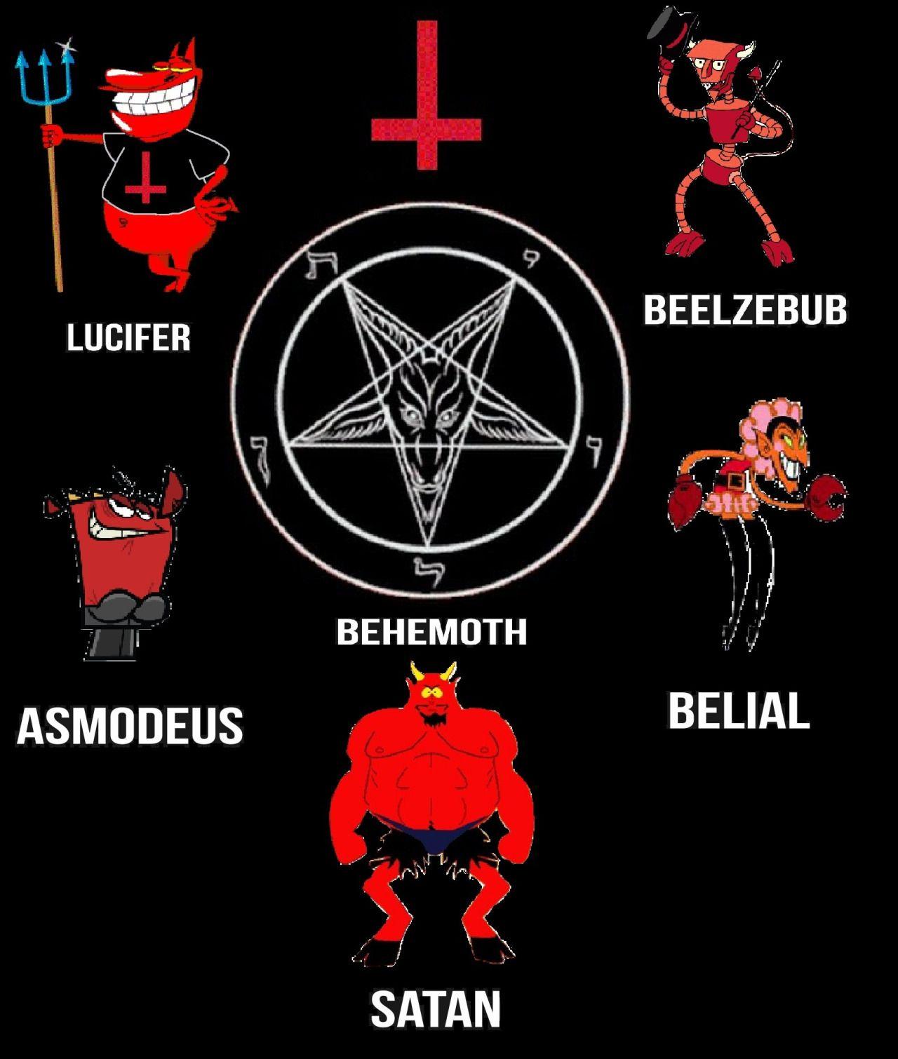 Pin En Lucifer Satan Devil 666