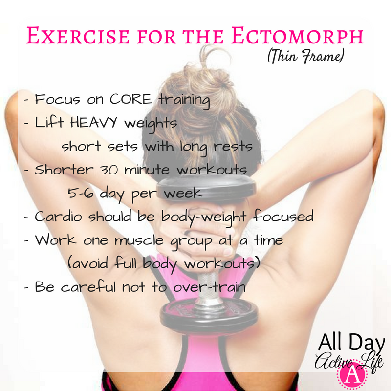 How to put on muscle and keep it for the ectomorph body type