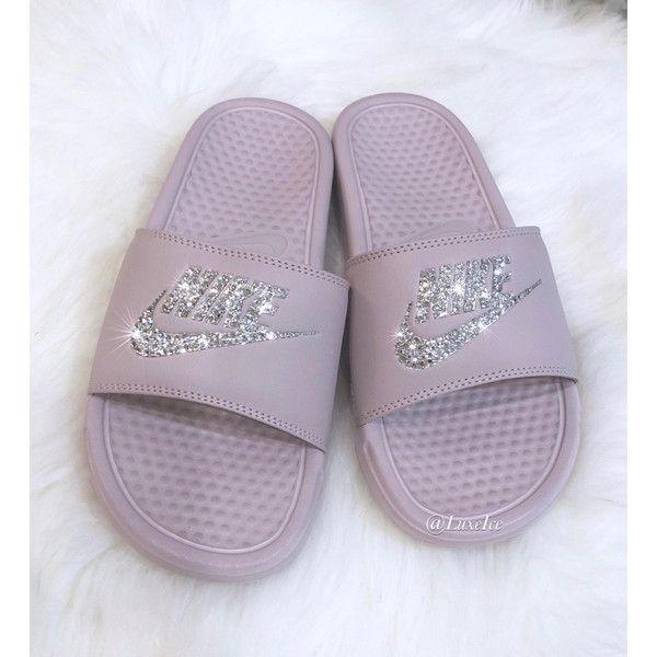 Nike Benassi argento Jdi Slides Flip Flops Particle rose metallic argento Benassi   00882c