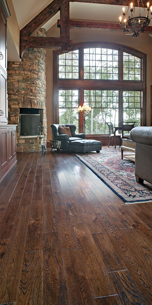 This solid Oak flooring makes the space! http//www