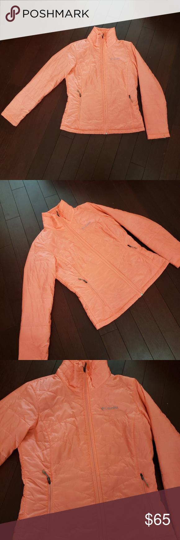 Neon Orange Jacket Sz M Orange Jacket Long Puffer Coat Neon Orange [ 1740 x 580 Pixel ]