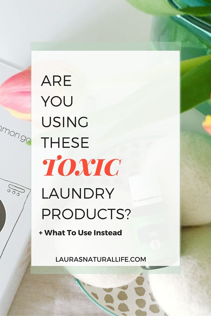 Are You Using Toxic Laundry Products? Most common laundry detergents, fabric softeners and dryer sheets contain endocrine disrupting and carcinogenic chemicals. Click through to find out how your products rate and what natural laundry products to use instead.