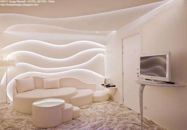 seven les plus beaux hotels design du monde chambre b pinterest chambres et id e. Black Bedroom Furniture Sets. Home Design Ideas