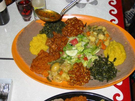 Awash Restaurant 5990 1 2 W Pico Blvd West Los Angeles Los Angeles Ca 90035 Need To Check This Place Out Ethiopian Food Raw Food Recipes Food