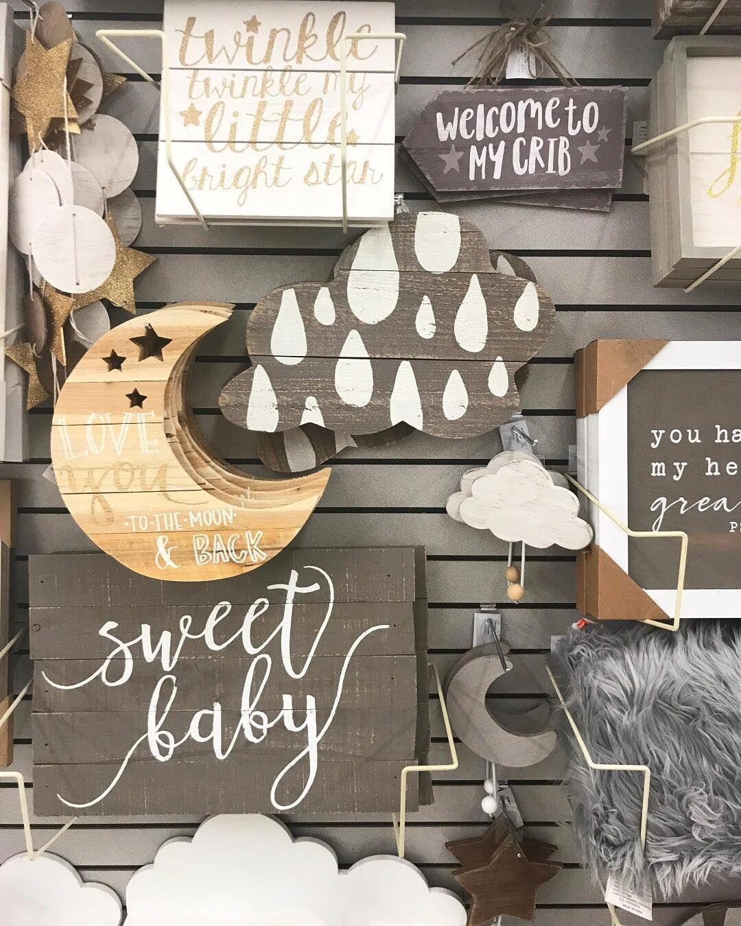 Baby Nursery Decor at Hobby Lobby