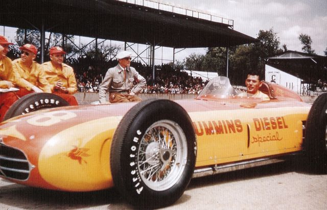 The Cummins Diesel Special at the 1952 Indianapolis 500